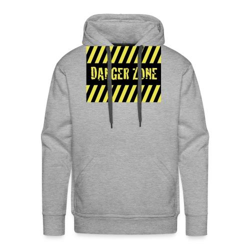 Danger Zone - Männer Premium Hoodie