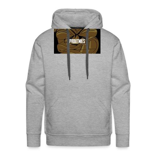 Baniere Proutnies - Sweat-shirt à capuche Premium pour hommes