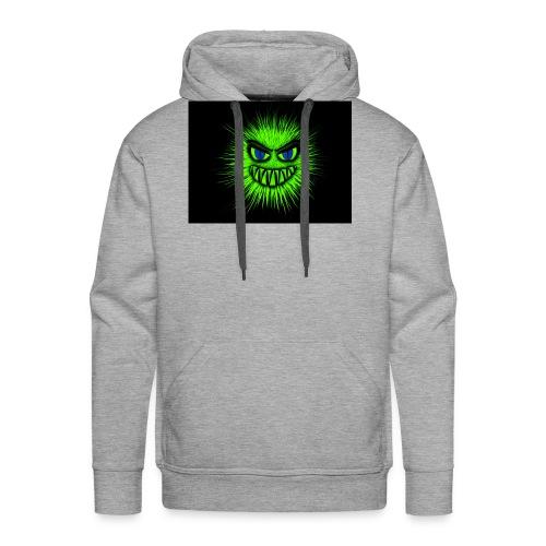 Green monster - Sweat-shirt à capuche Premium pour hommes