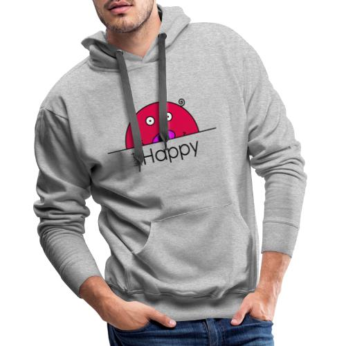 Happy Rosanna - « just Happy » - c - Sweat-shirt à capuche Premium pour hommes