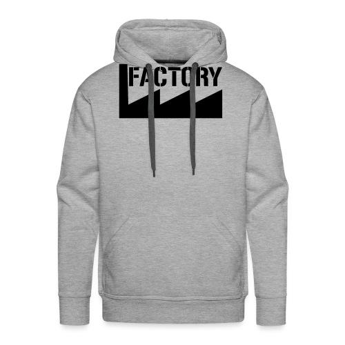 FACTORY - Mannen Premium hoodie