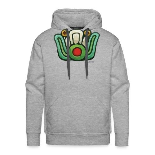Aztec Flower Color - Men's Premium Hoodie
