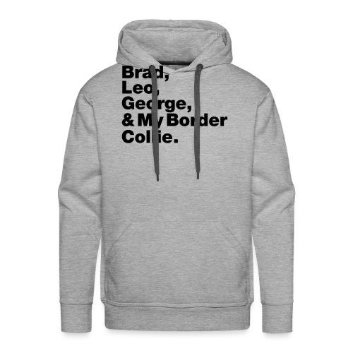 & My Border Collie - Sweat-shirt à capuche Premium pour hommes