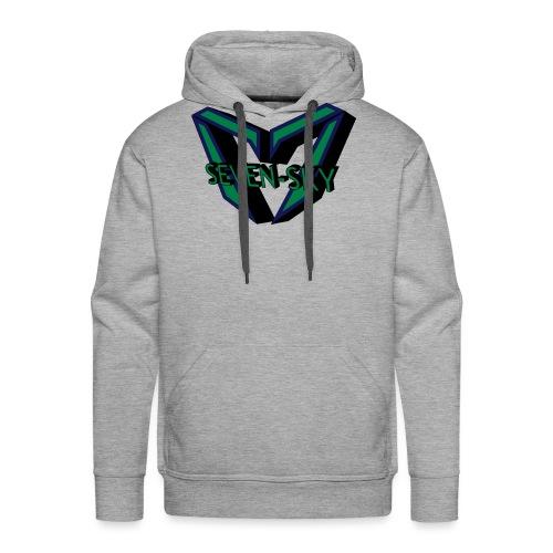 Seven-Sky Shirt Männer - Männer Premium Hoodie