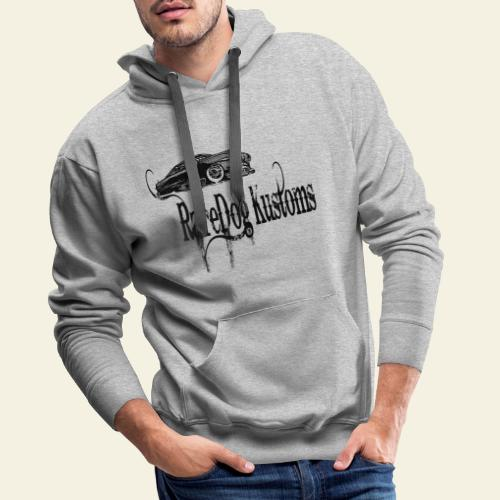 rd kustoms typed - Herre Premium hættetrøje