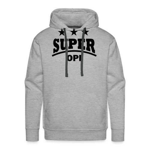 cool super opi raster - Mannen Premium hoodie