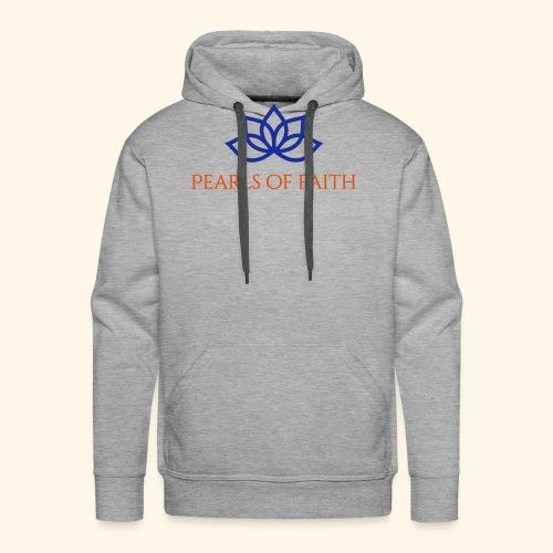 Pearls of Faith - Männer Premium Hoodie