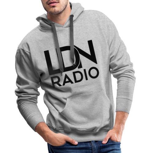 LDN Radio Logo black - Men's Premium Hoodie