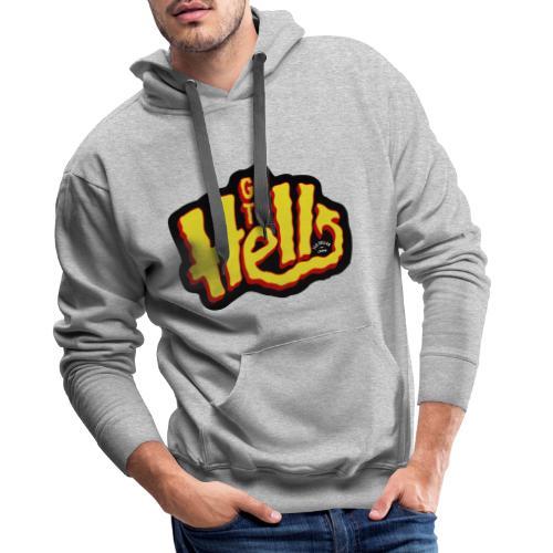 Go to Hell - Sweat-shirt à capuche Premium pour hommes