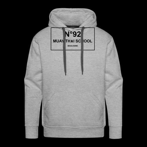 MTS92 N92 - Sweat-shirt à capuche Premium pour hommes