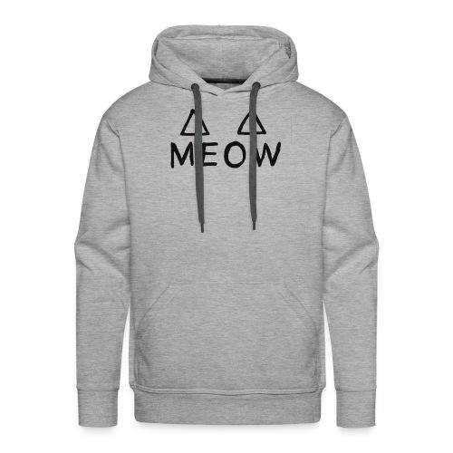 Meow - Sweat-shirt à capuche Premium pour hommes