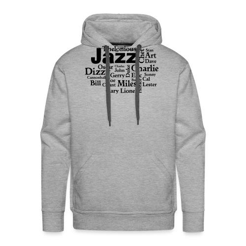 Jazz Greats - Männer Premium Hoodie