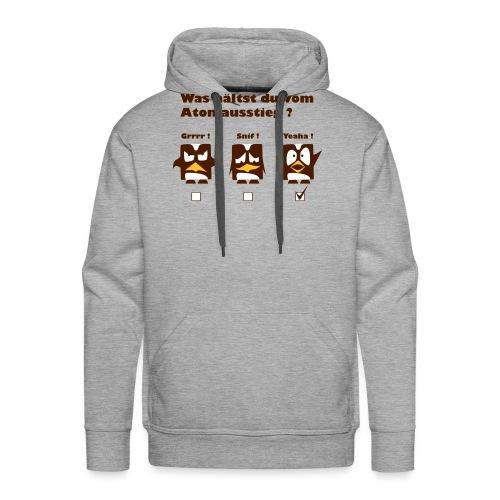 Atomkraft Pinguine - Männer Premium Hoodie