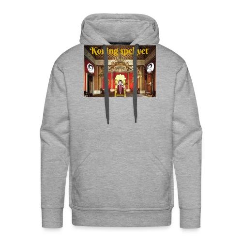 Koning Spekvet - Mannen Premium hoodie