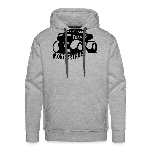 logo mtteam16 noir - Sweat-shirt à capuche Premium pour hommes