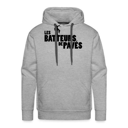 logo batteurs original 1 - Sweat-shirt à capuche Premium pour hommes