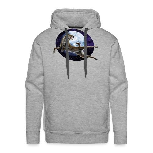 Galaxy Wolf - Männer Premium Hoodie
