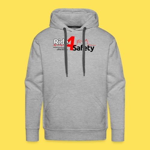 Ride4Safety - Felpa con cappuccio premium da uomo