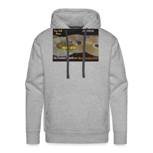 Enemy_Vevo_Picture - Men's Premium Hoodie