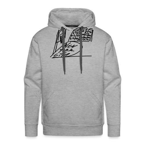 New_York - Sweat-shirt à capuche Premium pour hommes