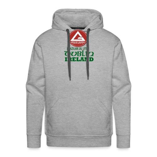 Gracie Barra Dublin Gaelic Celtic Font PNG - Men's Premium Hoodie