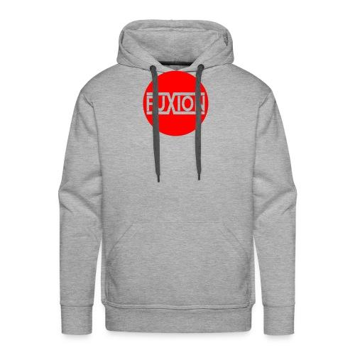 logo circulaire 2 1 - Sweat-shirt à capuche Premium pour hommes