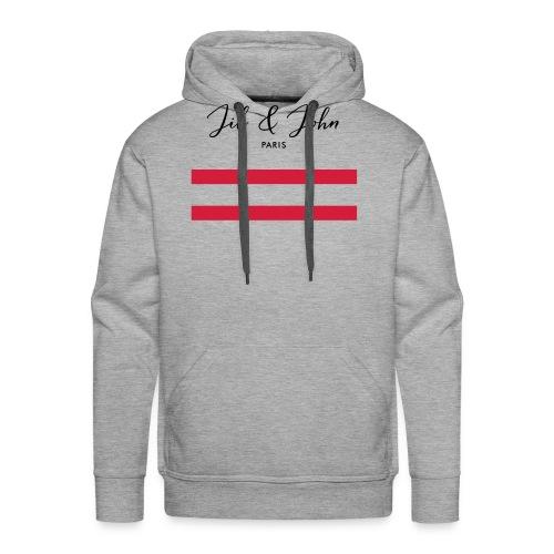 Jil & John - Sweat-shirt à capuche Premium pour hommes