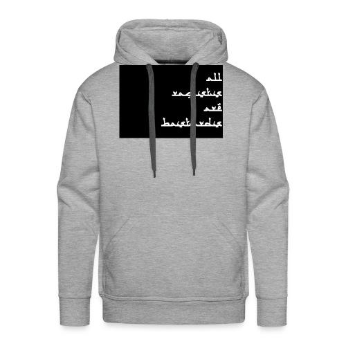 All rac. - Sweat-shirt à capuche Premium pour hommes