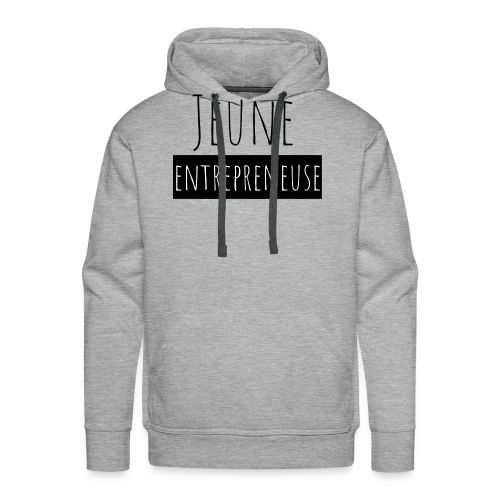 Jeune Entrepreneuse - Sweat-shirt à capuche Premium pour hommes
