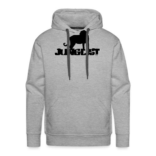 N4B Junglist Design - Felpa con cappuccio premium da uomo