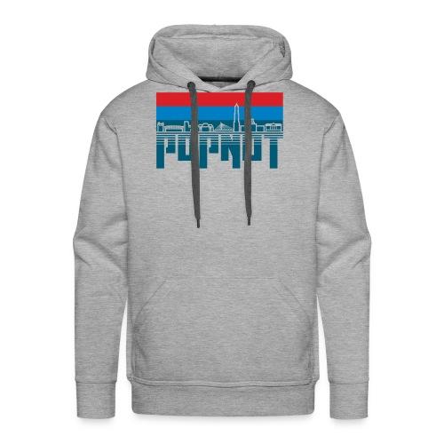 Sander donker patrs - Mannen Premium hoodie