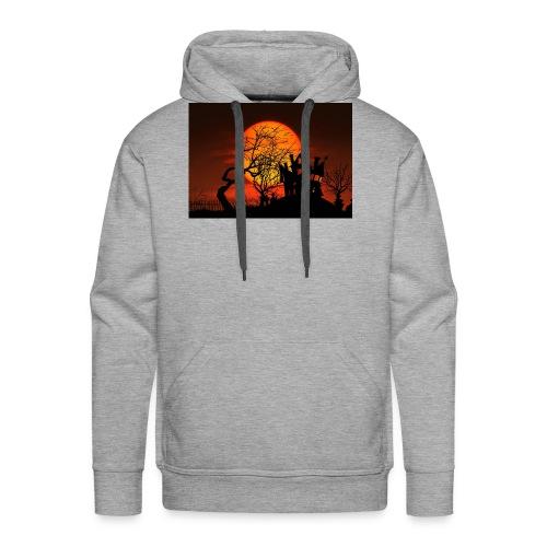 Le soleil couchant - Sweat-shirt à capuche Premium pour hommes