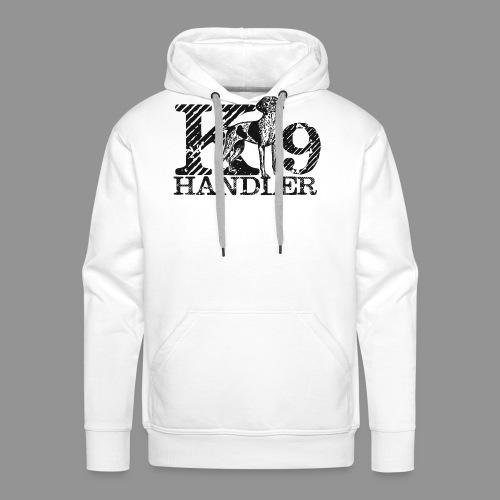 K-9 Handler - German Shorthaired Pointer - Men's Premium Hoodie