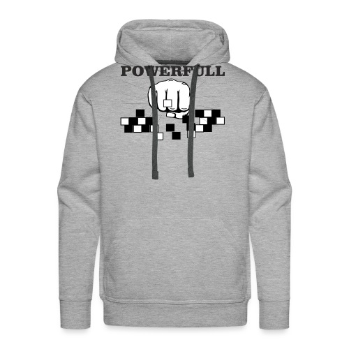 POWERFULL - Sudadera con capucha premium para hombre
