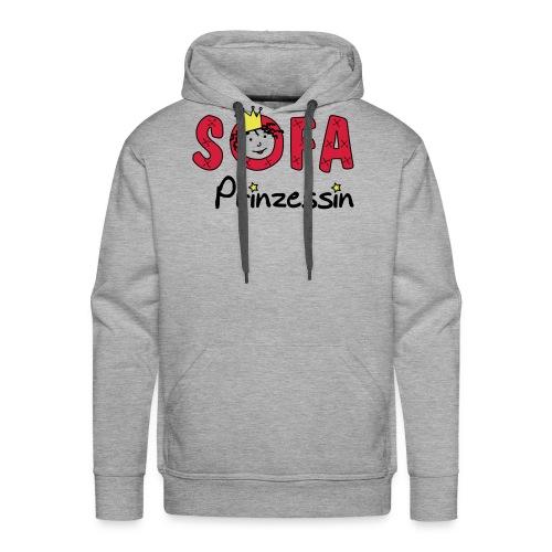 Sofaprinzessin Schriftzug - Männer Premium Hoodie