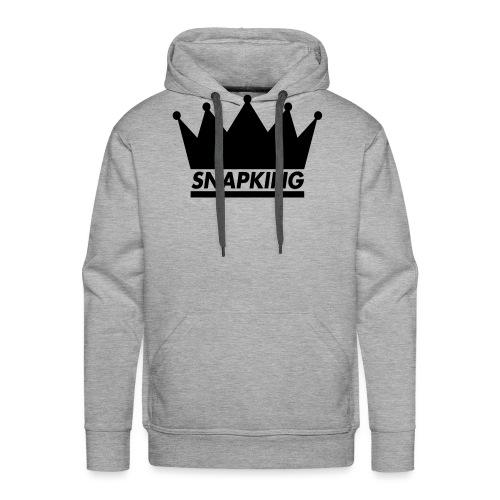 Snapking kroon - Mannen Premium hoodie