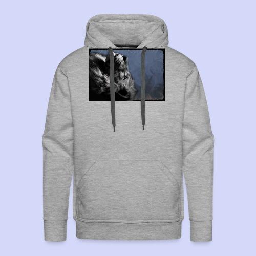 Lion night - Female shirt - Herre Premium hættetrøje