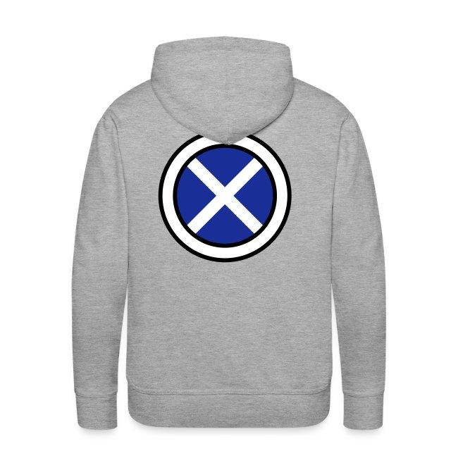 Scottish Button Saltire