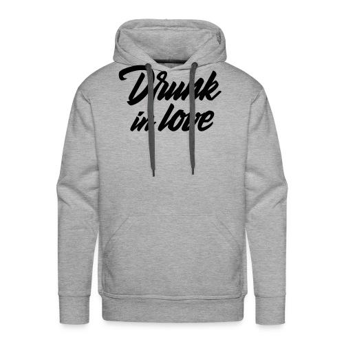 Bachelorparty - Drunk in love - Mannen Premium hoodie