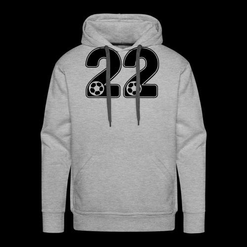 foot numero 22 - Men's Premium Hoodie