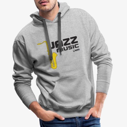 Jazz 002 - Sudadera con capucha premium para hombre