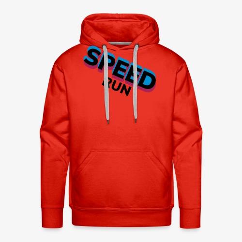 Speedrun - Mannen Premium hoodie