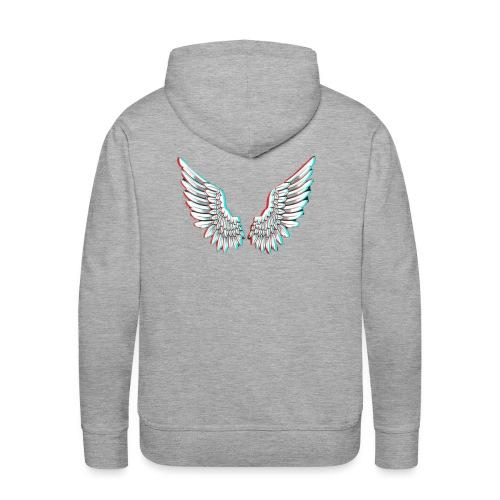 Angelic Wings Trainer Jacket - Männer Premium Hoodie