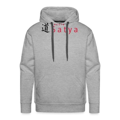 logo inline - Sweat-shirt à capuche Premium pour hommes