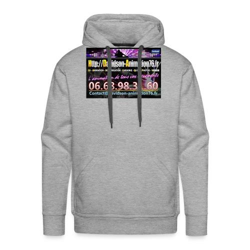 Affiche aimant 2016 jpg - Sweat-shirt à capuche Premium pour hommes