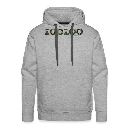 ZooZoo Camoflague Green - Männer Premium Hoodie