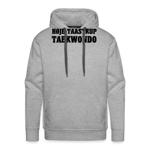 Høje-Taastrup Front Tryk - Herre Premium hættetrøje