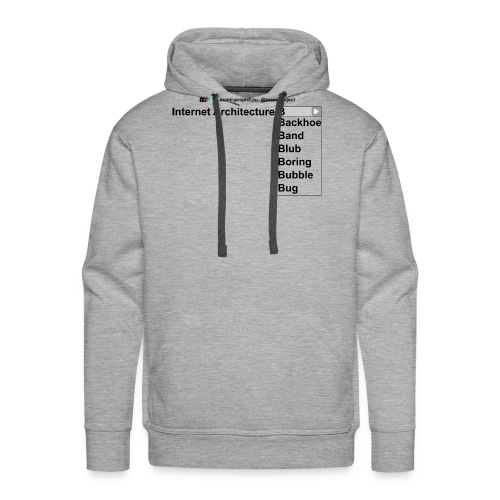 IAB-all3 - Men's Premium Hoodie