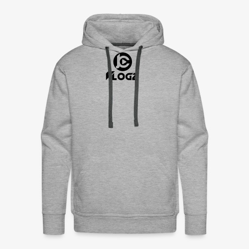 JC Vlogz Logo - Men's Premium Hoodie
