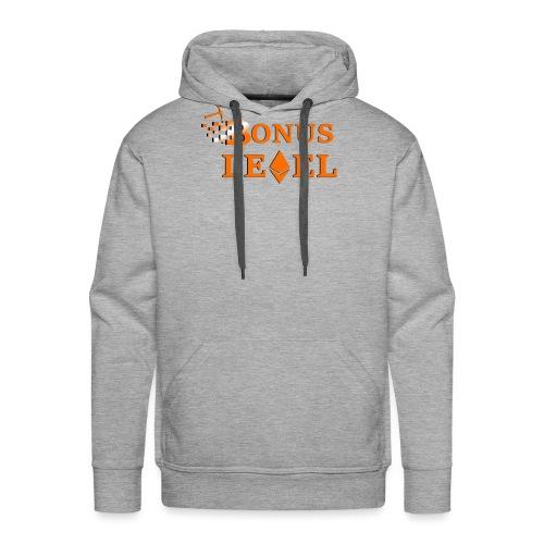 Bonus Level Logo - Männer Premium Hoodie